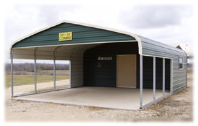 Versatile Steel Buildings Central Texas Storage